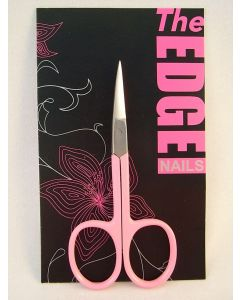Pink Nail Scissors - Curved