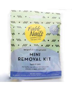 FabbNails all in one mini removal kit