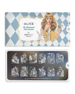 MoYou Alice Nail Art Plate Collection #10