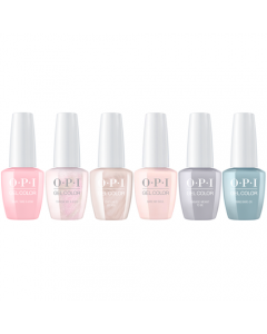OPI GelColor - Complete Always Bare for You Collection 6 x 15ml Bottles