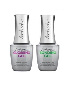 Artistic Colour Gloss - Top and Base Coat Bundle 15ml