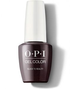 OPI GelColor - Black To Reality 15ml (Nutcracker Collection)