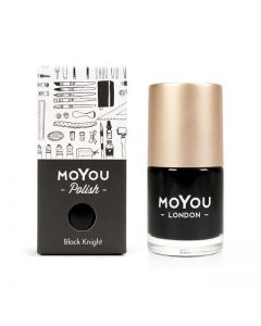MoYou Premium Nail Polish - Black Knight 15ml