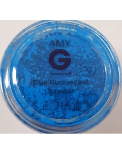 Amy G Nail Art Collection Fluorescent Powder - Blue 5g
