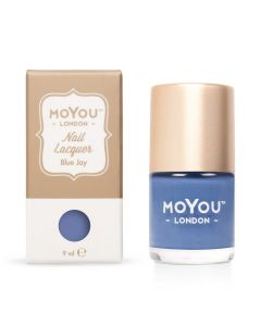 MoYou Premium Nail Polish - Blue Jay 9ml