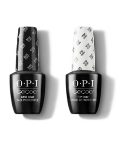 OPI GelColor - Top and Base Coat Bundle 15ml