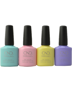 CND Shellac - Complete Chic Shock Collection