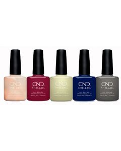 CND Shellac - Complete Crystal Alchemy Collection