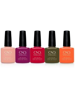 CND Shellac - Complete Treasured Moments Collection