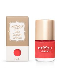 MoYou Premium Nail Polish - Coral Crush 9ml