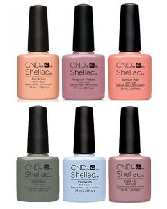 CND Shellac - Complete Flora & Fauna Collection
