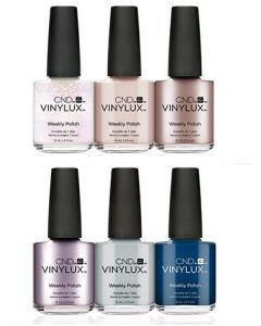 CND Vinylux - Complete Glacial Illusion Collectioin