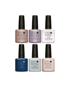 CND Shellac - Complete Glacial Illusion Collection