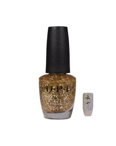 OPI Nail Polish - Gold Key to the Kingdom 15ml (Nutcracker Collection)