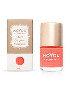 MoYou Premium Nail Polish - Mango Tango 9ml (Neon Under UV Lights)