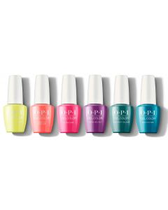 OPI GelColor - NEON Complete Collection 6 x 15ml Bottles