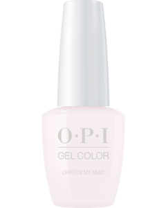 OPI GelColor - Chiffon My Mind 15ml (Soft Shades Collection)