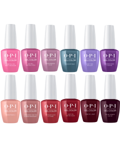 OPI Gelcolor - Complete Peru Collection 12 x 15ml Bottles