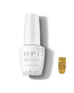 OPI GelColor - Glitter All The Way 15ml (Hello Kitty Collection)