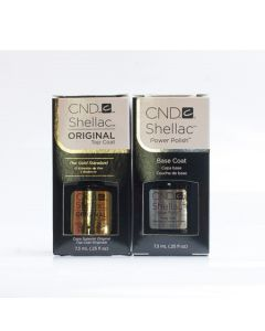 CND Shellac Top and Base Coat Bundle Set 7.3ml