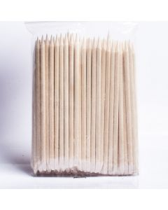 Orange Wood Sticks pack of 10