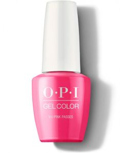 OPI GelColor - V.I.Pink Passes 15ml (NEON Collection)