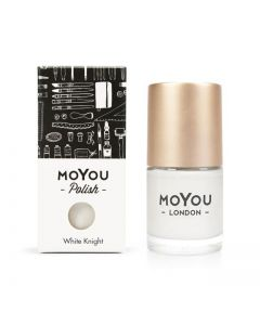 MoYou Premium Nail Polish - White Knight 15ml